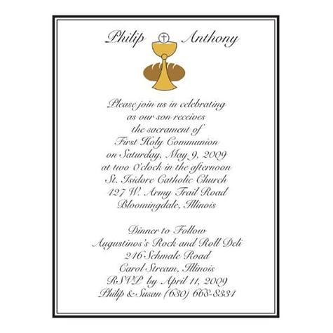 Invitations & Thank You